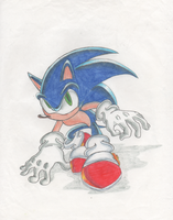 Modern Sonic The Hedgehog. by Virus-20