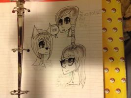 Classroom Doodles by The-Insane-Puppeteer