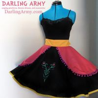 Anna - Frozen - Cosplay Skirt by DarlingArmy