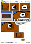Spark Comic #91 - Time Scare by SuperSparkplug