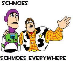 Schmoes, Schmoes Everywhere by bugs92