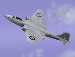 English Electric Canberra Pr9 by davincipoppalag