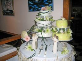 The Wedding Cakes by ArtSquirrel