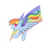 Stop Drawing Rainbow Dash by LordBoop