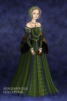 Anne Boleyn in Fantasy by LadyAquanine73551