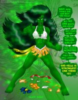 Sailor She-Hulk Special Edition 5 of 5 by ProjectQK