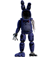 Improved Withered Bonnie FULL RENDER 4k by CoolioArt