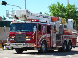 CFB fire rescue truck parade by sidneyj06
