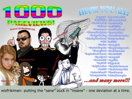 1000 pageviews - tribute by wizfrikiman
