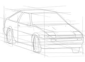 AE86 doodle by MikeWong2795