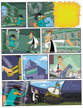 Phineas and Ferb by PLANETsTAtiC