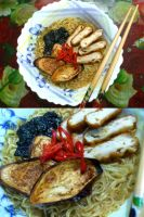 chicken ruski ramen style by plainordinary1