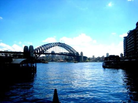 The harbour bridge by no1blondebombshell