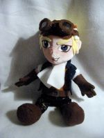 Cid Highwind Plushie by WhittyKitty