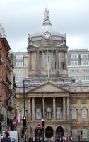 View of Liverpool Town Hall from Victoria Monument by rlkitterman