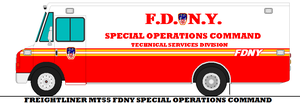 Freightliner MT55 FDNY Special Operations Command by mcspyder1