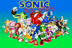 Sonic Free Riders - The Finale - Wallpaper by BingotheCat