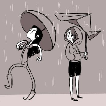 Umbrella Envy by indigofox