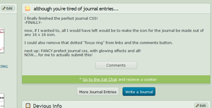 Perfect Journal CSS Mark II by Aaron-The-Hybrid