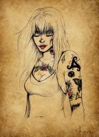 Tatoo by Paloma-momiji