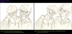 Murdoc and 2D are like Jay and Silent Bob by Strabius