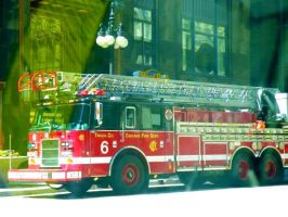 Fire Truck, Red 2 by Noora7at