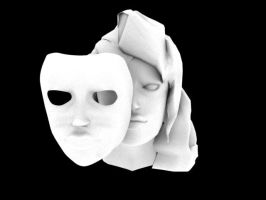 Witch And Her Mask Ambient Occlusion by HommicidalPenguinsCo