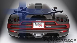 Koenigsegg CCXR HD, for PS3 by sunnybacon
