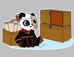 Sad Panda BTC by AnkhsPaw