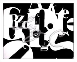 typography callage by My-Fairy-Lust