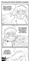 The Sailor Moon Goods Dilemma by TriaElf9