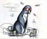 Monster Penguin by chopper481