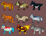 ONLY SEVEN AND EIGHT ARE LEFT (LOWERED PRICES) by MizuMeip