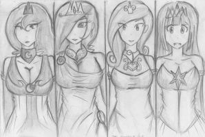 The Princesses of Equestria by Masteryeah037 by Masteryeah037