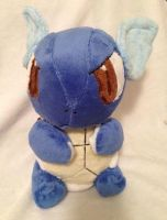 Wartortle Plush by Glacdeas