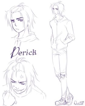 Derick Character Concept by Mochi-Mochiron
