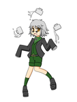 Spin-It Ozpin by LunarisFuryAileron