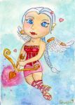 Valentines Day Cupid by Starrydance