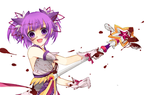 Elsword Aisha Battle Magician Render by Cupcaakex3