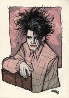 Robert Smith by DenisM79