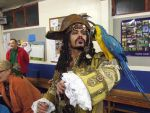 Pirate + real parrot from POTC by cosplayoverlord