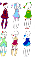 lolita dress CLOSED by mangadoptables