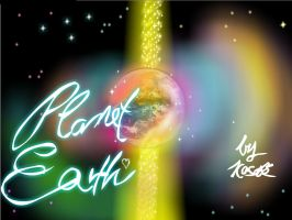 I LOVE MOTHER EARTH. by K-O-S-A-K