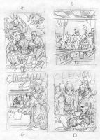 Legion 46 Cover Layouts by manapul