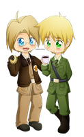 APH: America and England by Kyoukouo
