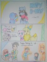 Birthday Greetings in 3 Dimensions by ThePrismOwl