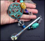 Crystal Lotus SunCatcher by andromeda
