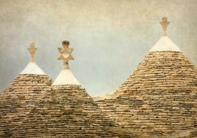 Trulli Roof Ornaments by margatt