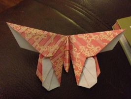 Origami butterfly by Gryph-Draco