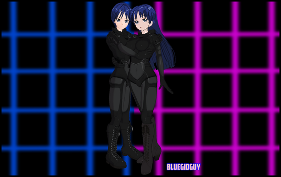 Original Character No. 28 and 29 - John and Jane by BlueGidGuy